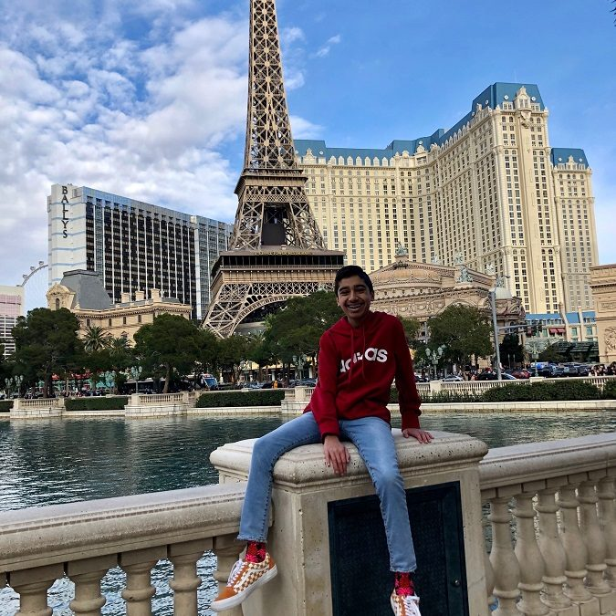 The Great Arjunia Visits Las Vegas